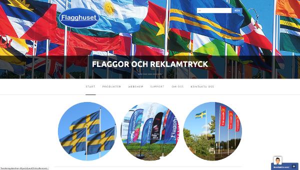 Ny hemsida Flagghuset